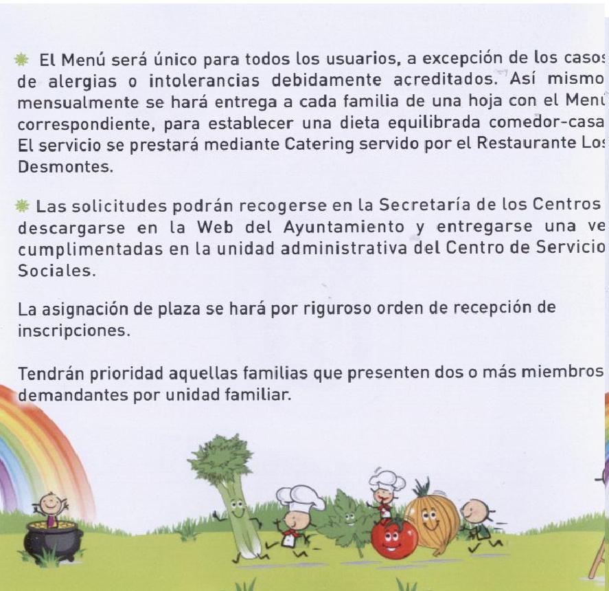 Comedor Escolar | CEIP San José de Calasanz, Membrilla (Ciudad Real)